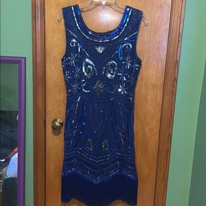 Gorgeous Sequin Gatsby dress - worn once!